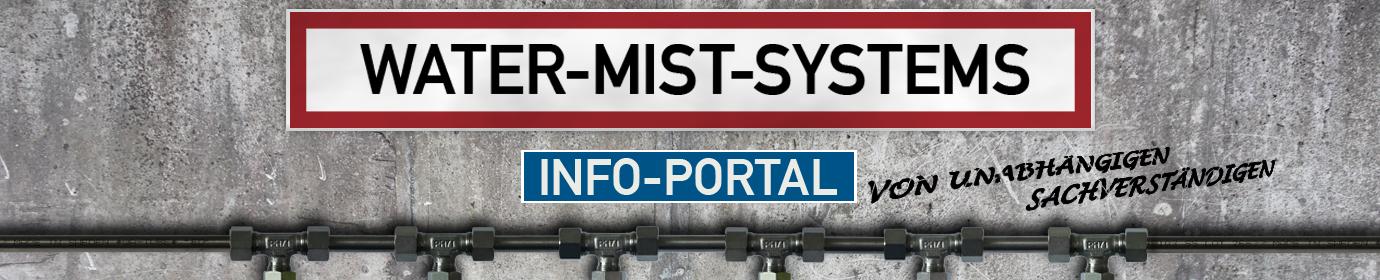 Water Mist Systems - Informationen rund um Löschanlagen